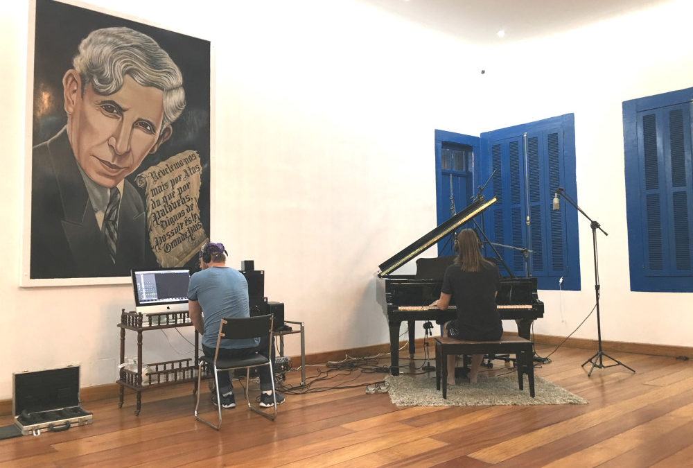Recording Piano in High Style